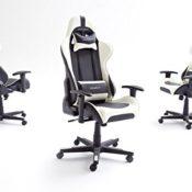 DXRacer 6 Gaming Stuhl, Chefsessel mit Armlehnen,