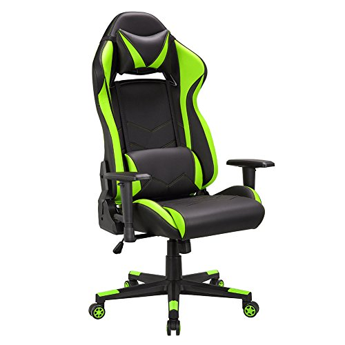 gaming stuhl chair schreibtischstuhl ergonomisch gamer. Black Bedroom Furniture Sets. Home Design Ideas