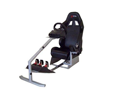 GTR Rennsimulator Touring, mit echtem Rennsitz, Gaming-Stuhl mit Schalthebel-Halterung