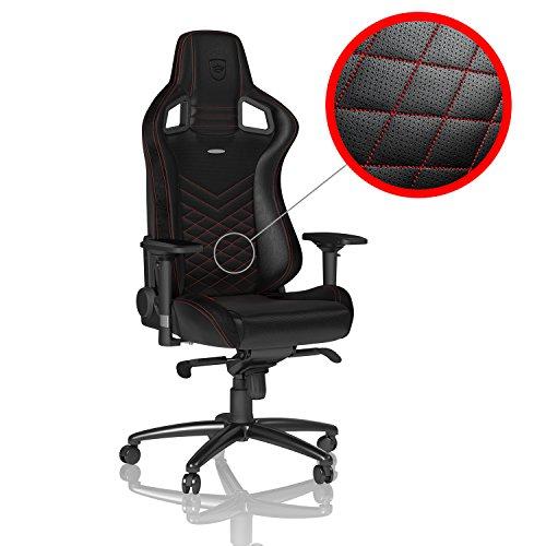 noblechairs EPIC Gaming Stuhl – schwarz/rot
